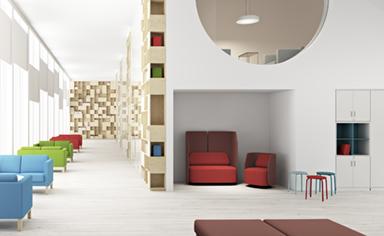 high tech interior design history project