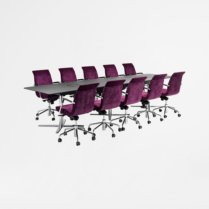 Centrum Vario Meeting Tables - Office Furniture | Kinnarps